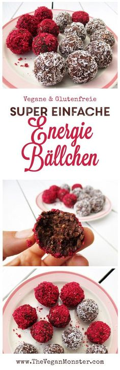 Vegane Glutenfreie Energie Baellchen Rezept Ohne Kristallzucker