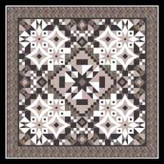 Dowager Countess from Downton Abbey merged with the Asteria quilt. Pattern available at: www.NeedleinaHayesStack.biz Needle In A Hayes Stack