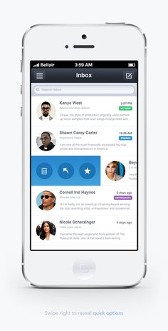 iOS Mail App / Stanislav Kirilov