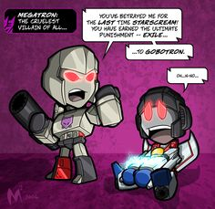 Lil' Formers : Megatron and Starscream