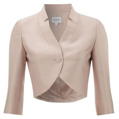 See this and similar Hobbs Invitation jackets - Add this pretty shade of English rose pink for a perfect elegant touch to your summer occasion outfit. In a wool...