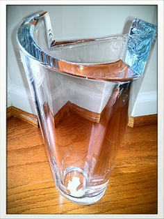 Orrefors Zaza Large Vase...|| have the bowl version of this - nobody makes Crystal like Orrefors did!
