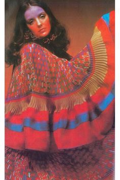 Photo by Clive Arrowsmith, Vogue UK, 1970