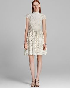 Alice + Olivia Dress - Fairy Lace Flare on shopstyle.co.uk