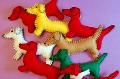 Doxie Tutorial - cute idea for something in the nursery...