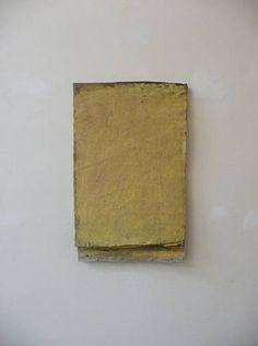 "Lawrence Carroll, Calendar Painting ""yellow"", 2010"