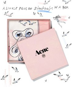 To celebrate the beauty of our hometown, Acne Studios brings to Tokyo a little piece of Stockholm in a box.