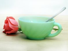 Hey, I found this really awesome Etsy listing at https://www.etsy.com/listing/190562730/rare-model-1960s-jadeite-cup-teacup-cup