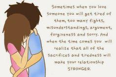 Problems Make Relationship Stronger