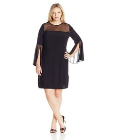 Find MSK Women's Plus Size Woven Bell Sleeve Sparkle Knit online. Shop the latest collection of MSK Women's Plus Size Woven Bell Sleeve Sparkle Knit from the popular stores - all in one Plus Size Gowns Formal, Plus Size Dresses, Plus Size Outfits, Formal Dresses, Ladies Dresses, Linen Dresses, Women's Dresses, Special Dresses, Special Occasion Dresses