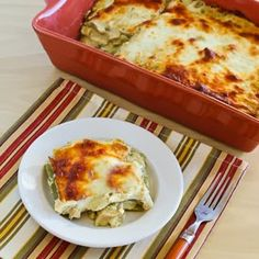 Green Chile and Chicken Mock Enchilada Casserole (Low-Carb, Gluten-Free) | Kalyn's Kitchen®
