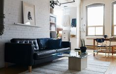 How one couple turned a former cheese factory into their beautiful home.