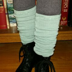 earth creations Leg Warmers - Spruce THIS LISTING MAY BE PURCHASED!   Need we say more? This is definitely a flashback that you are going to have fun wearing!   Fabric: 100% organic cotton sweater crepe Made in the U.S.A earth creations  Accessories Hosiery & Socks