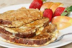 Healthy Protein Cinnamon Raisin French Toast