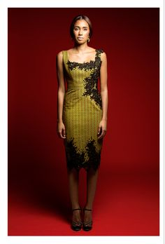 I just love wonderfully tailored dresses...Taibo Bacar's Spring/Summer 2014 collection | Zen Magazine Africa