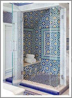 Islamic Restroom Design | أجمل حمام مغربي Moroccan Bathroom بالزليج ...