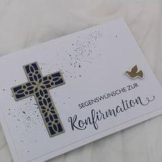 Stampin' Up! Karten handmade (@kartenwelt_in_bahlingen) • Instagram-Fotos und -Videos Stampin Up, Get Well Cards, Christening, Big Shot, Card Ideas, Handmade, Instagram, Diy, Crafts