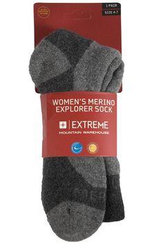 info for 3bb19 8c35c Merino Womens Explorer Socks
