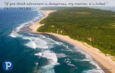 The beautiful Kwa-zulu Natal coastline in South Africa