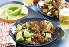 With plenty of Cajun spice, this freezer-friendly chicken dish with rice will be a family fave. With diced tomatoes, black beans and lime, it's full of zest!