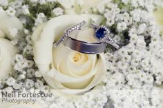 Wedding rings in the brides bouquet - soft winter colours #suffolk #wedding #TheSwan #Lavenham