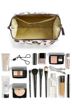 Tory Burch Large Floral Print Cosmetics Case | Nordstrom