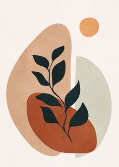 art // drawings // illustrations Soft Shapes II Mini Art Print by City Art - Without Stand - 3 Art And Illustration, Illustrations, Kunst Inspo, Art Inspo, City Art, Minimal Art, Modern Art, Modern Frames, Modern Canvas Art