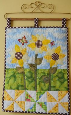 Ready for Spring? This project will get you in the mood for those bright Spring and Summer days. The Sunflowers cheery yellow petals nod in