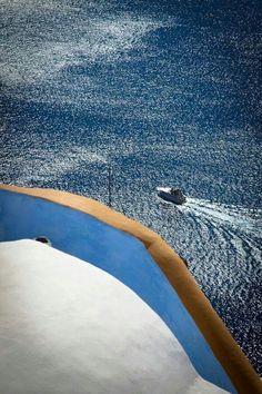 Aegean blue. Magical Greece....