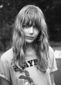 Frida Gustavsson, textured waves and bangs Frida Gustavsson, Messy Hairstyles, Pretty Hairstyles, Inspo Cheveux, Look 2018, Face Hair, Great Hair, About Hair, Hair Inspo