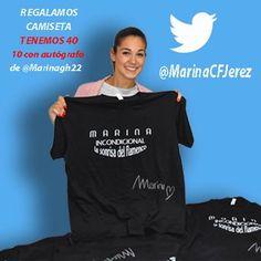 Eres un@ buen@ #incondicionaldemarina ? sigue  instrucciones y tendrás tu camiseta Tenemos 40 y 10 firmadas . Bases http://marinagarciaherrera.es/bases-legales-concurso-en-twitter-marinacfjerez-camiseta-de-regalo-marina-incondicional-la-sonrisa-del-flamenco/