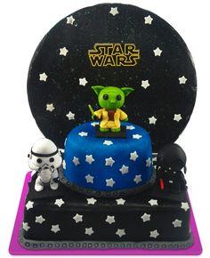 Starwars cake, starwars tortas