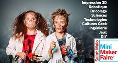 L'évènement Maker-Faire débarque en France les 11 et 12 octobre prochains !