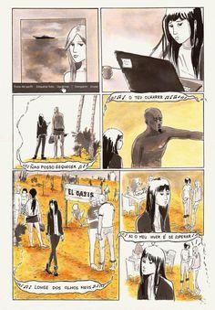 Memorias de una dibujante responsable y otros cuentos sobre Superchicas.: Playa Paraíso Página 3