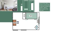 Layout for Jessica's Room