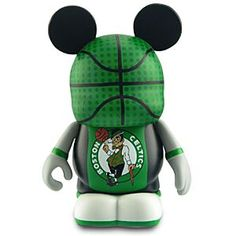 Disney Vinylmation NBA Boston Celtics Figure -- 3'' | Disney StoreVinylmation NBA Boston Celtics Figure -- 3'' - It's a lucky day for fans of Boston Celtics and Vinylmations! Cheer for green and white with this Boston Celtics Vinylmation basketball player. Designed by Disney artists, this vinyl figure is one of eight designs in the NBA Vinylmation series.