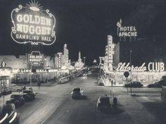 The old Las Vegas Strip