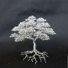 Wire Work/ Wire tree by Vadim Shevchenko (Russia)