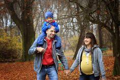 rodzinna Sesja zdjęciowa w parku Decjusza