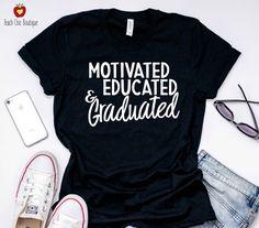 College Graduation Pictures, Graduation Picture Poses, Graduation Photoshoot, Grad Pics, Graduation Day, Graduation Outfits, Graduation Shirts For Family, Grad Pictures, Teacher Appreciation