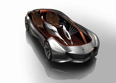 Mercedes Aria Concept Car 2030