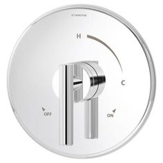 Symmons Dia 1-Handle Shower Faucet System in Chrome (Valve Included)-3500-CYL-B - The Home Depot
