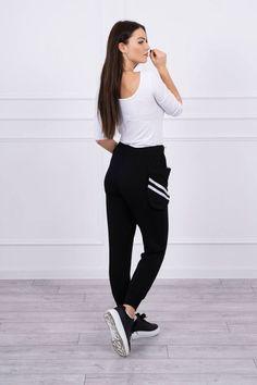 Pantaloni dama negru - 94 Lei -    Compozitie:  90% bumbac ,  10% spandex  -   Comanda acum!  #divashopromania #divashop #hainefemei #pantaloni  #fashion #fashionista #fashionable #fashionaddict #styleoftheday #styleblogger #stylish #style #instafashion #lifestyle #loveit #summer #americanstyle #ootd #ootdmagazine #outfit #trendy #trends #womensfashion #streetstyle #streetwear #streetfashion #shopping #outfitoftheday #outfitinspiration #ootdshare #trendalert #boutique #ha Normcore, Sporty, Street Style, Zip, Ootd, Spandex, Boutique, Outfit, Shopping