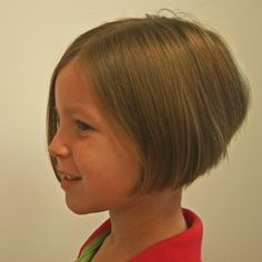 bob hair cut for kids | Bob Haircuts, Stacked Bob, Layered Bob, Inverted Bob » Little Girl ...