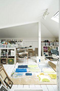 attic studio space