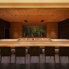 Japanese Restaurant Interior, Japanese Interior, Restaurant Interior Design, Bar Interior, Japanese Shop, Japanese Modern, Japanese Design, Japanese Style, Sushi Bar Design