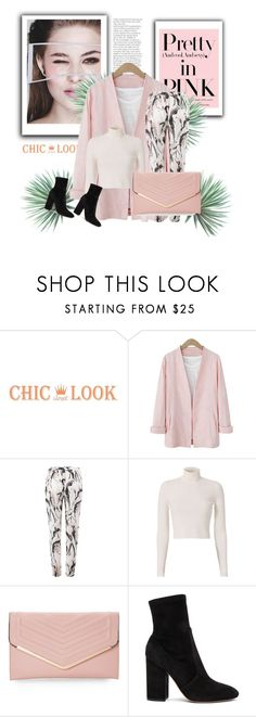 """""""Pretty In Pink"""" by annedenmark on Polyvore featuring A.L.C., Sasha, Valentino and Agave"""