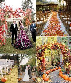 10 Incredible Wedding Details for Fall Wedding 2014   http://www.tulleandchantilly.com/blog/ten-incredible-wedding-details-for-fall-wedding-2014/