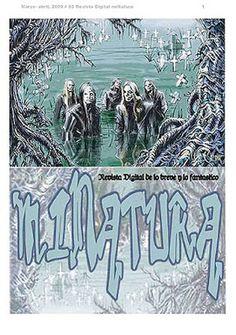 Revista Digital miNatura nº 93. Dossier: Fantasmas y Lugares Encantados. Portada: Swam Cementery por M. C. Carper (Argentina)