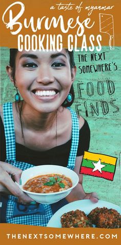 """In this """"Food Finds,"""" join me in the kitchen for an authentic Burmese cooking class with Mercury Traditional Home Cooking in Nyaungshwe, Myanmar. Cooking School, Cooking Classes, Burmese, The Next, Foodie Travel, Southeast Asia, Traveling By Yourself, Asia Travel, Mercury"""